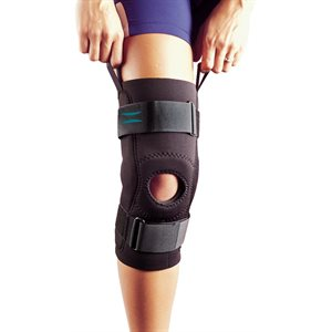Hinged Patella Stabilizer - Universal Tubular Buttress (3630H, 3630HPC)