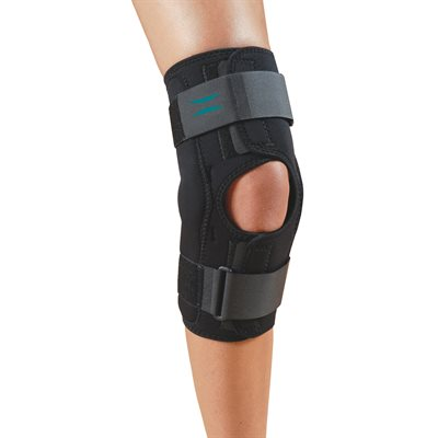NoSwet® Knapp™ Hinged Knee Orthosis - Anterior Closure (7656, 7656HH, 7656ROM, 7658, 7658HH)